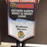 Midget AA League Championship Banner